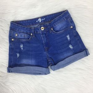 7 for all Mankind Girls Shorts